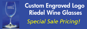 Custom Engraved Riedel Wine Glasses