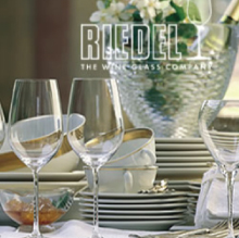 Engraved Riedel Wine Glasses